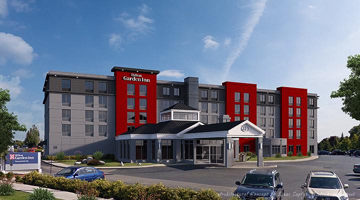 Hilton Garden Inn Addition - Oakville, Ontario