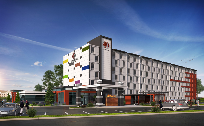 Indianapolis, USA, Double Tree Hotel Concept