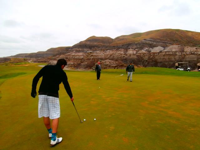 Canalta Charity Golf Tournament Drumhellar Dragons - 18