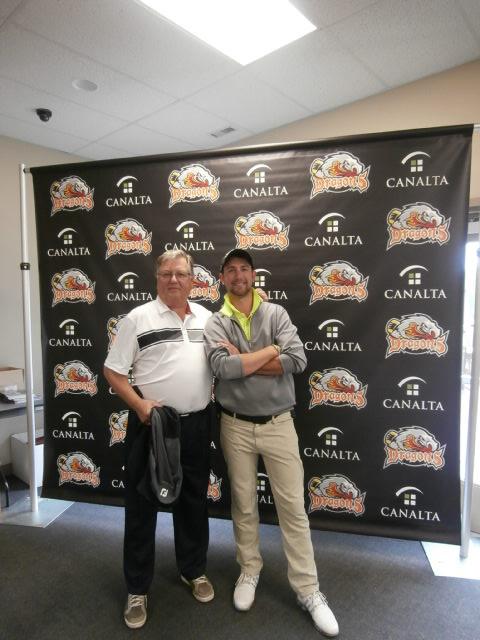 Canalta Charity Golf Tournament Drumhellar Dragons - 27