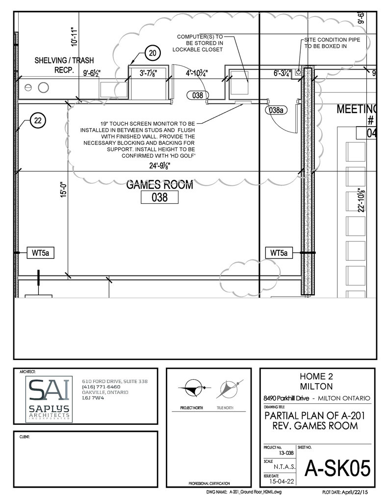 HD Golf - Milton Home 2 - Layout