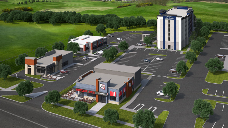 Hampton Inn and Suites - Appleby - Site