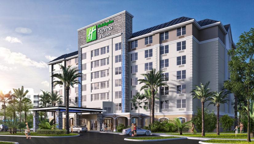 Orlando Calypso Inn conversion to Holiday Inn Express