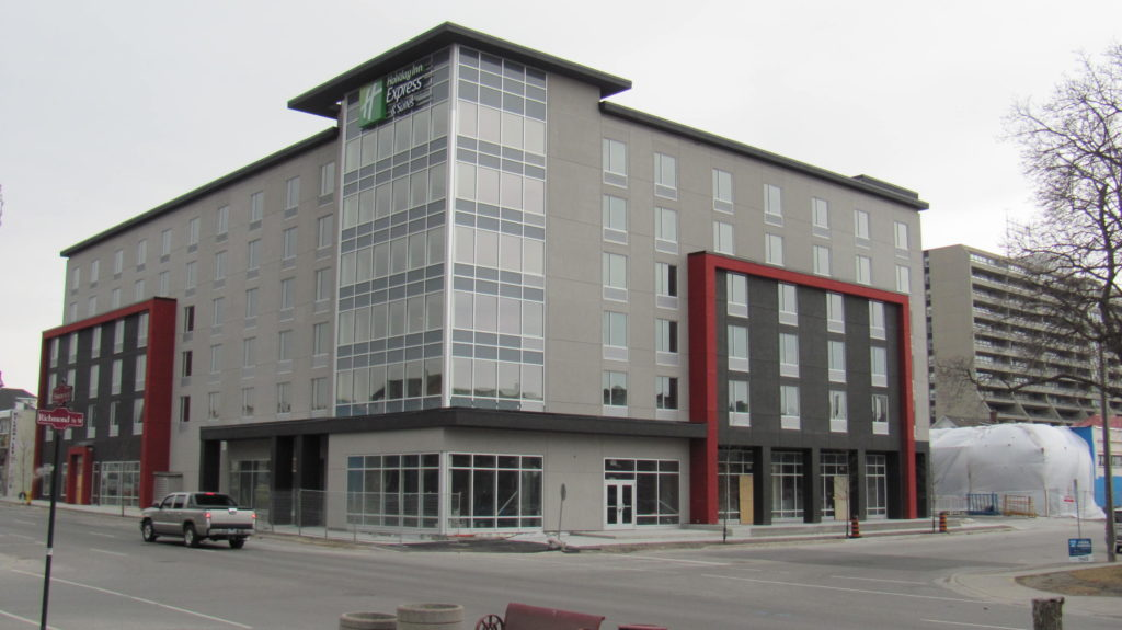 Downtown Oshawa, ON, Holiday Inn Express